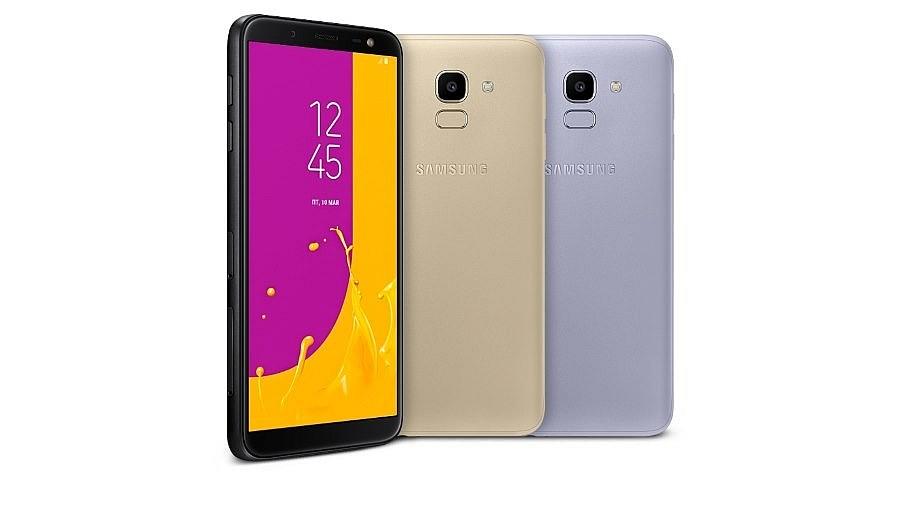 Samsung J6 - стильный телефон