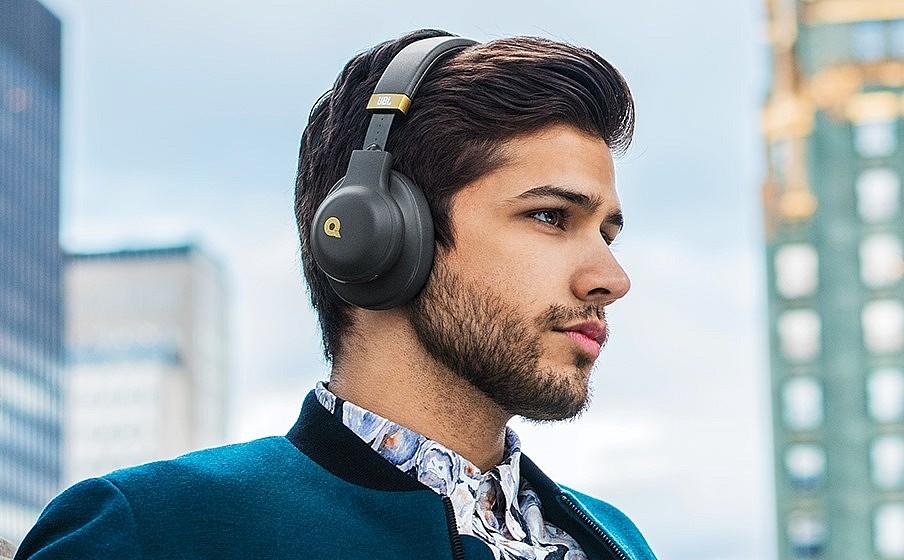 Беспроводные наушники JBL E55BT Quincy Edition для комфортного прослушивания музыки