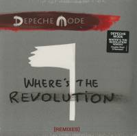 "Depeche Mode ‎""Where's The Revolution [Remixes]"" (2x12"")"