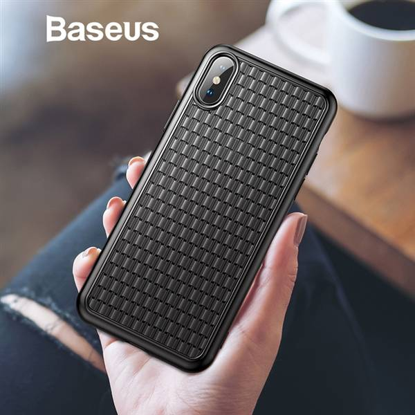 Пластик Baseus Fashion Knitting Case для iPhone XS Max (WIAPIPH65-BV0)