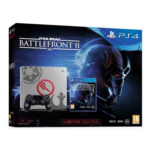 Игровая консоль SONY PS4 CUH-2116B 1000GB SLIM + Battlefront II: LIMITED EDITION
