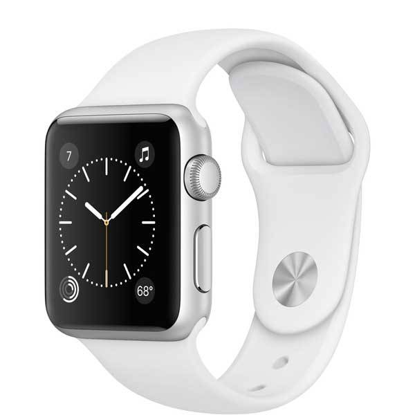 Умные часы Apple Watch Series 1 38mm Silver Aluminum Case with White Sport Band