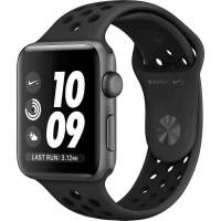 Apple Watch Nike+ 42mm Space Gray Aluminum Case with Anthracite/Black Nike Sport Band