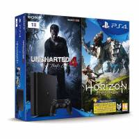 Игровая консоль SONY PS4 CUH-2116B 1000GB + Uncharted 4 + Horizon
