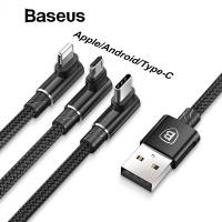 USB кабель Baseus 3-in-1 MVP 3-in-1 Mobile Game Cable (CAMLT-WZ01)