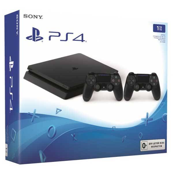 Sony PlayStation 4 Slim 1 ТБ + DualShock 4 V2