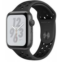 Apple Watch Nike+ Series4 44mm Space Gray Aluminum Case with Anthracite Black Sport