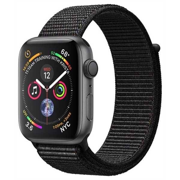 Умные часы Apple Watch Series 4 GPS 44mm Space Gray Aluminum Case with Black Sport Loop