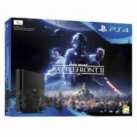 Игровая консоль SONY PS4 CUH-2116B 1000GB SLIM + Battlefront II