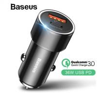 АЗУ Baseus Small Screw TypeC PD + USB QC3.0 36W (CAXLD-A0)