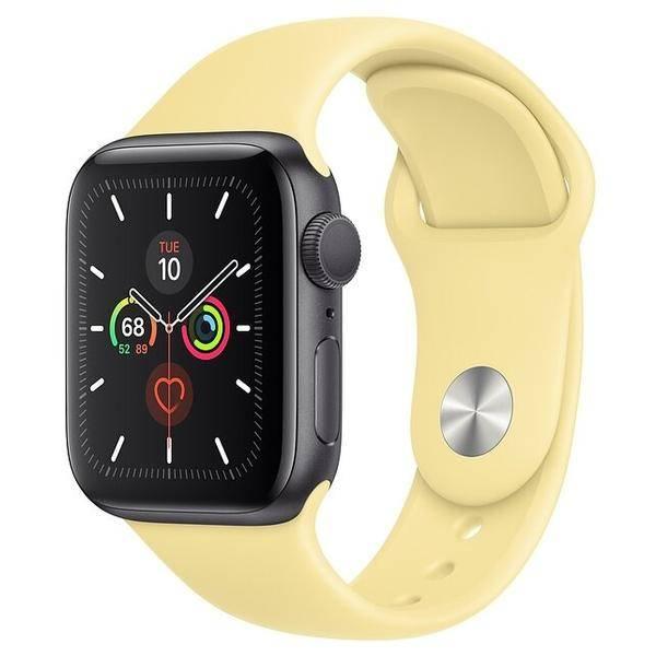 Умные часы Apple Watch Series 5 GPS 40mm Aluminum Case with Sport Band. Цена. Фото. Характеристики.